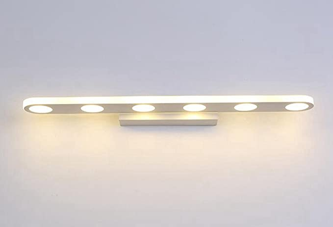 Longless led. specchio lampade bagno wc moderno semplice armadietti