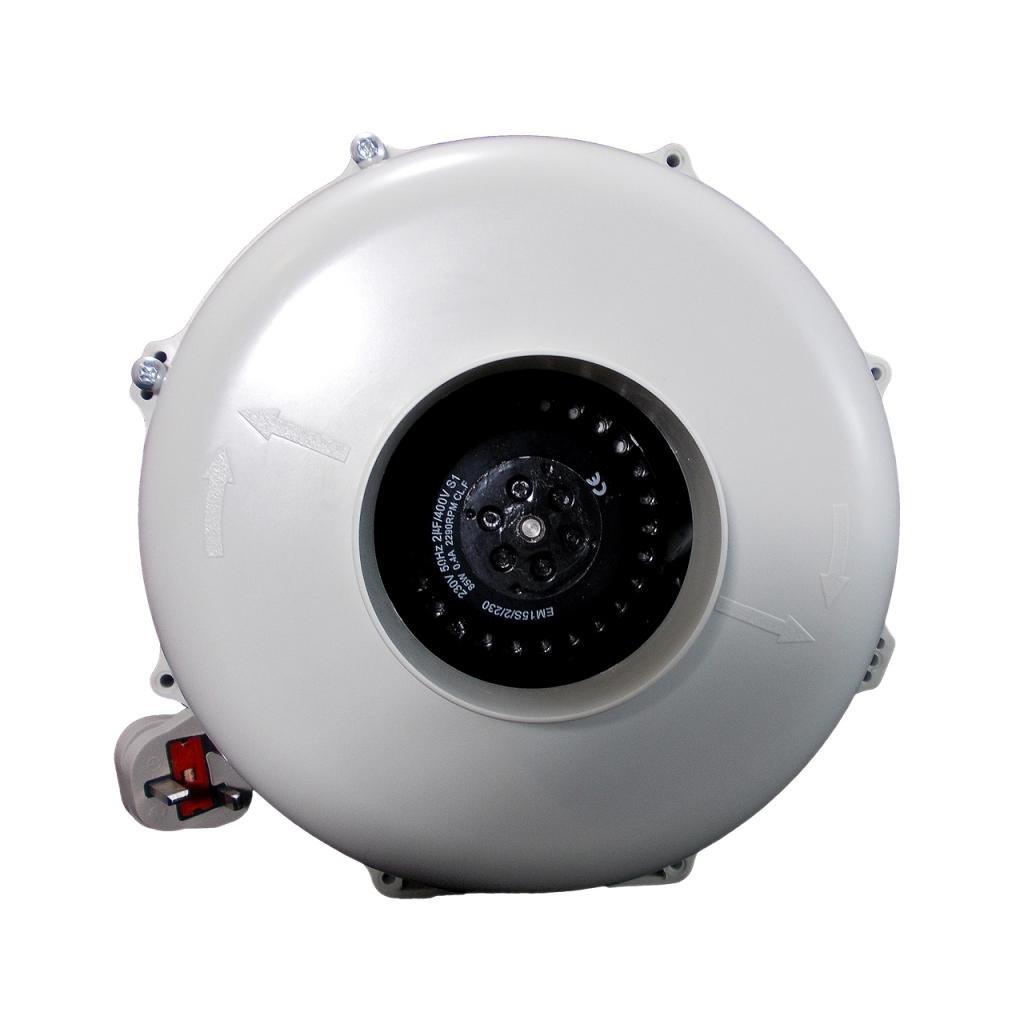 Airtech Inline Duct zentrifugalextraktor Ventilation Fan ABS-Kunststoff Körper 150 mm