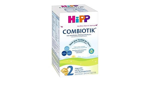 Hipp Orgánico Combiotik 2 leche de continuación - a partir de 6 meses, 1 x 600g: Amazon.es: Alimentación y bebidas