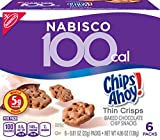 Cheap Nabisco 100 Calories Chips Ahoy! Thin Crisps Chocolate Chip Snacks, 36 Snack Packs (6 boxes with 6 packs per box)