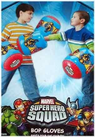 Superhero Squad Inflatable Bop Gloves