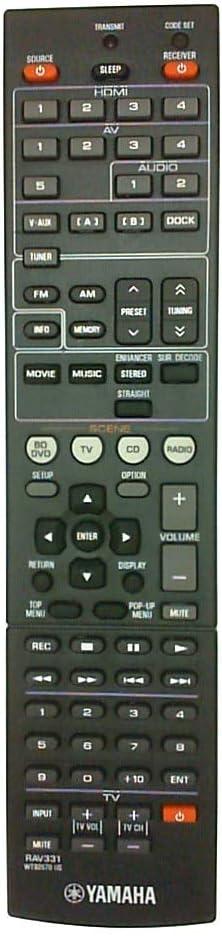 Yamaha WT926700 RAV331 REMOTE CONTROL