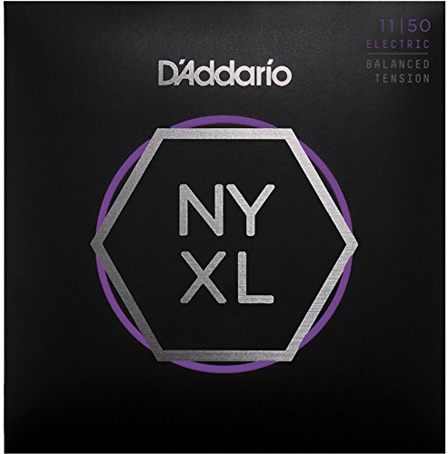 Nickel Wound Medium Electric Guitar (D'Addario NYXL1150BT Nickel Wound Electric Guitar Strings, Balanced Tension Medium)