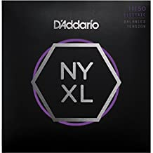 D'Addario NYXL1150BT Nickel Wound Electric Guitar Strings, Balanced Tension Medium