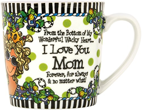 Brownlow Kitchen Brownlow Gifts Gift Mug, Suzy Toronto Mom, Black/White