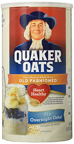 quaker oatmeal container - 2