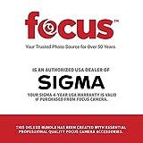 Focus Camera Sigma MC-11 Lens Mount Converter (Canon EF to Sony E-Mount) with 32GB SD Card