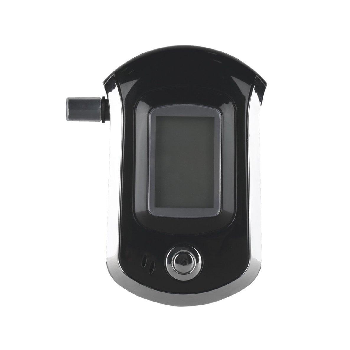 Noradtjcca Alkohol Tester Professionelle Digitale Alkoholtester Atemanalysator mit Gro/ßen Digitalen LCD-Display 5 St/ücke Mundst/ücke