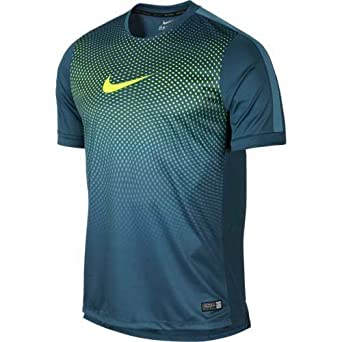 462b438959b9c7 Nike Men s Polyester Sports T-Shirt (619732-483 Turquoise ...