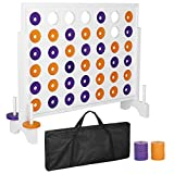 Smartxchoices Giant 4 in a Row Board Game Set - 3