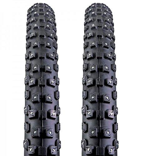 2x Kenda Fahrrad Spike Reifen Klondike Wide K-1013 58-559 26x2.35 SRC Draht