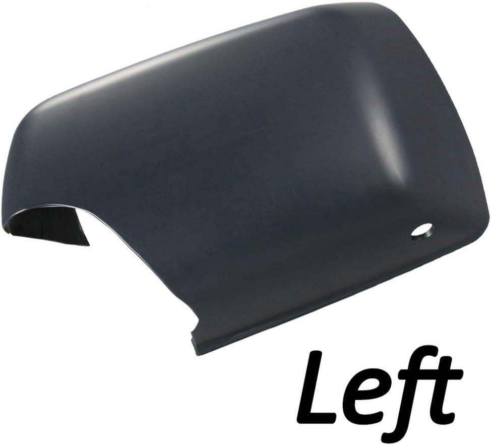 Uzinb Pilote Gauche Black Side Rearview Mirror Aile Couvercle du bo/îtier Capuchon de Protection de Remplacement pour BMW X5 E53 00-06 51168266733