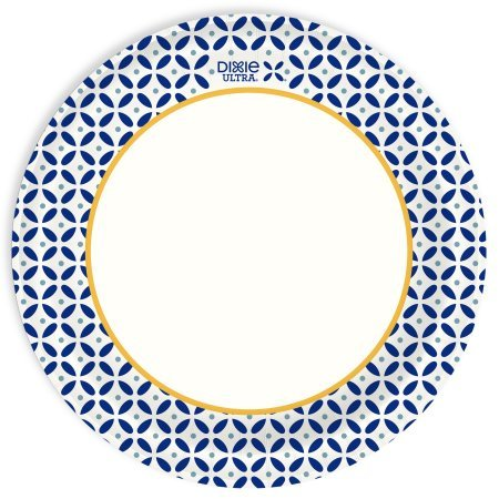 Dixie Ultra Paper Plates, 10 1/16'', 100ct - Pack of 5