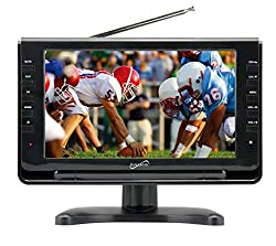 Supersonic Portable Widescreen Lcd Display With Digital Tv Tuner, Usbsd Inputs & Acdc Compatible For Rvs, 9-inch