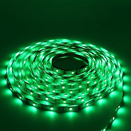 rathun led strip lights kit 10m 32 8 ft 5050 rgb 300 leds. Black Bedroom Furniture Sets. Home Design Ideas