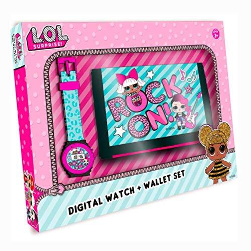 LOL SURPRISE Set Reloj Digital y Billetera en Caja (DI2207LOL) 1