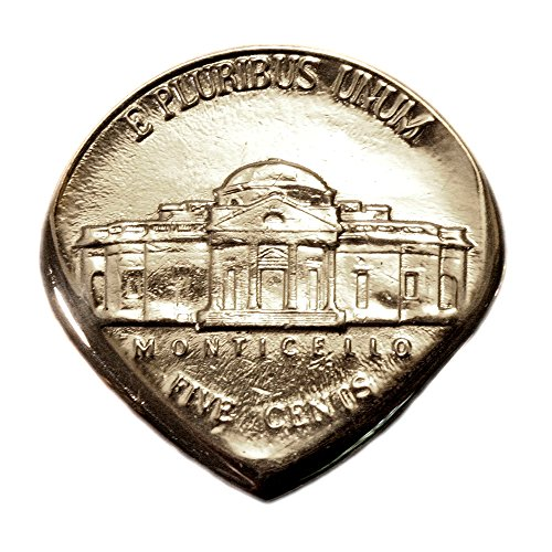 Jefferson Accessory Collection - USA Nickel Coin Guitar Pick - Small Jazz Size