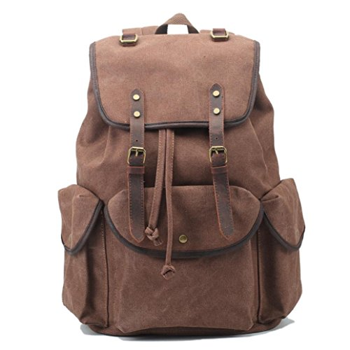 backpacks-snniku-canvas-vintage-backpack-leather-rucksack-satchel-hiking-bag-crazy-horse-leather-tra