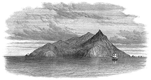 Posterazzi Pitcairn Island. /Ninhabited by Descendants of The Crew of HMS 'Bounty' Wood Engraving English 1867. by Poster Print by by, (18 x 24) - Hms Bounty Wood
