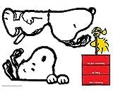 Eureka Peanuts and Snoopy Classroom Calendar for