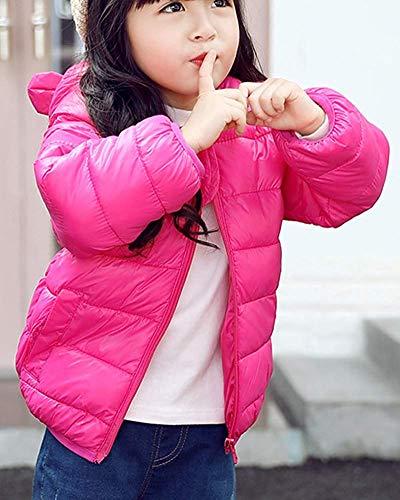 fermeture Couleur chaude à 80 Rose pour glissière légère garçon capuche fille petit à Zhrui veste tout taille OXwHI