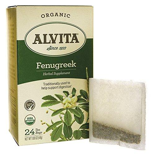 ALVITA TEA FENUGREEK SEED ORG