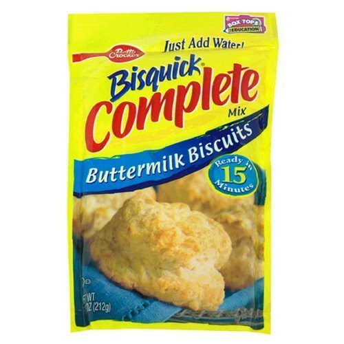 - Betty Crocker, Bisquick, Complete Mix, Buttermilk Biscuits, 7.5-Ounce Pouch (Pack of 6)