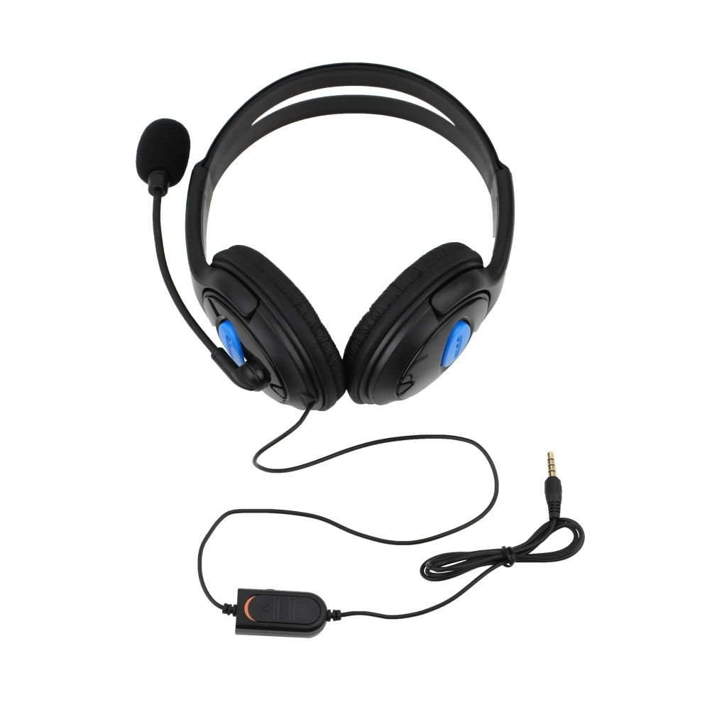 Stereo Wired Gaming Headsets Headphones with Mic for PS4 Sony PlayStation 4 PC by JNSupplier