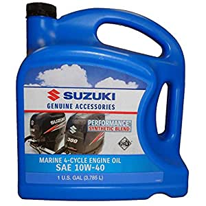 Oem Suzuki Marine Outboard Synthetic Blend 4