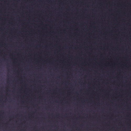 A0000J Purple Authentic Cotton Velvet Upholstery Fabric by The Yard