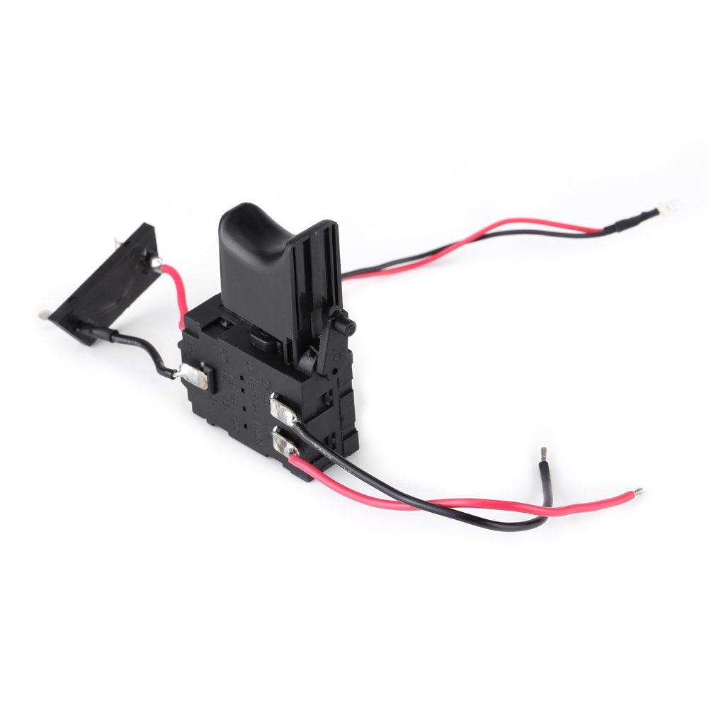 12V Cordless Drill Trigger Switch Lithium Battery with Small Light