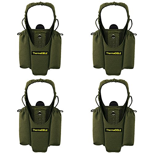 - ThermaCELL Mosquito Repellent Appliance Holster, Olive, 4-Pack