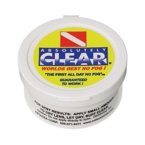 - Absolutely Clear Scuba Mask Defog