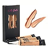 (All 24 Colors) La Girl Hd Pro Conceal High Definition Concealer (Gc973-creamy Beige)