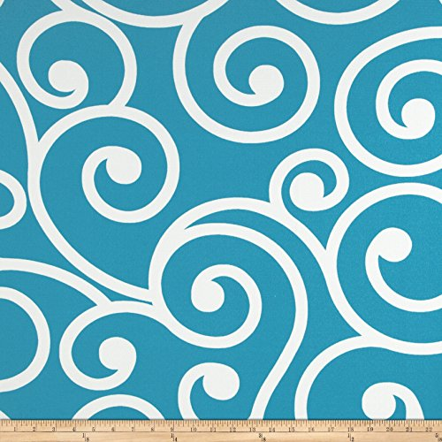 Richloom Solarium Outdoor Best Turquoise Fabric By The Yard (For Best Cushions Fabric Boat)