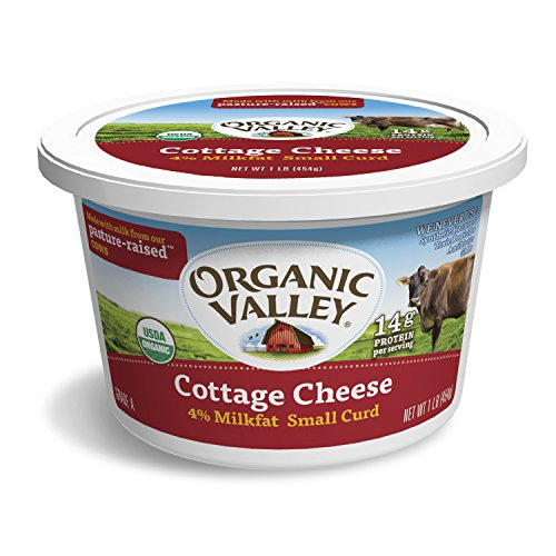 Organic Valley, Small Curd Cottage Cheese, Organic, 16 oz