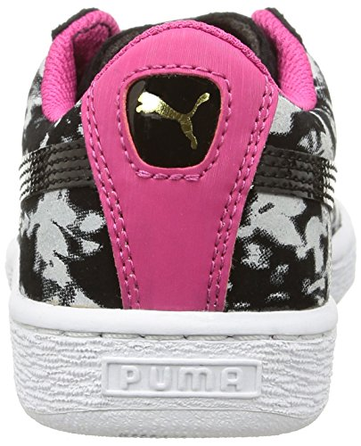 Puma 358854 - Zapatillas Niñas Negro (black/beetroot purple)