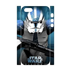 C-EUR Cell phone Protection Cover 3D Case Star Wars Soldier For Iphone 5,5S