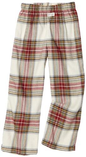 Life is Good Boys' Lounge Pants Lounge Pants,Classic Crème Plaid,Small (Good Pants Life Lounge Is)