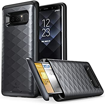 Galaxy Note 8 Case, Clayco  Argos Series  Premium Hybrid Protective Wallet  Case for 84681bba0303