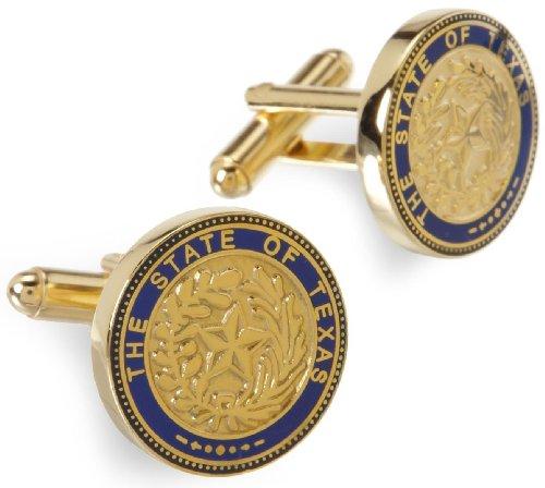 Cufflinks Inc. Men's Texas State Seal Cufflink