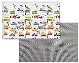 BABYLYNN Baby Play mat,Kids Play mat,Infant Play mat,Foam mat,Floor mat,Play mat Non Toxic,Play mat Waterproof,Large Play mat,Creeping mat,playpen mat,Activity mat (XL, Car Car) (Car Car, XL)