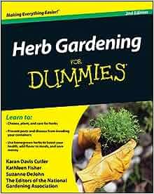 Herb gardening for dummies karan davis cutler kathleen for National gardening association