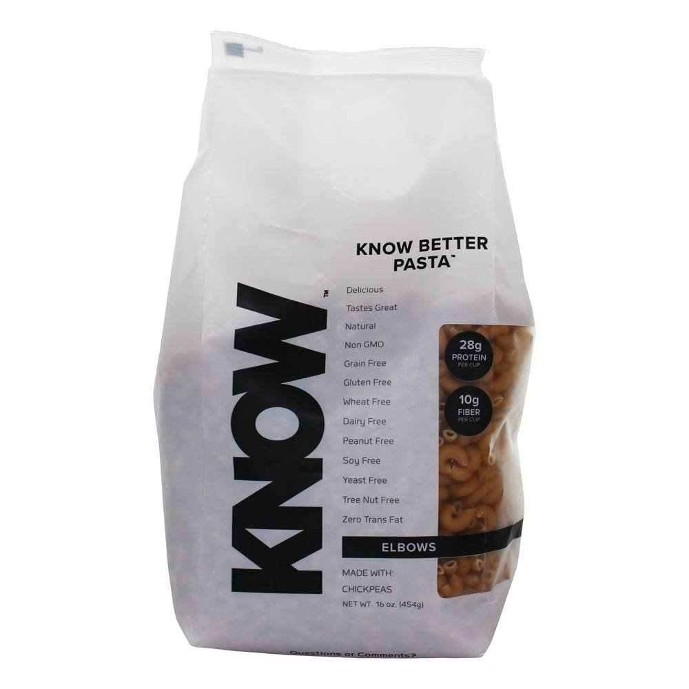 KNOW Foods Gluten Free, Low Carb Pasta, 1 Pound by KNOW Foods