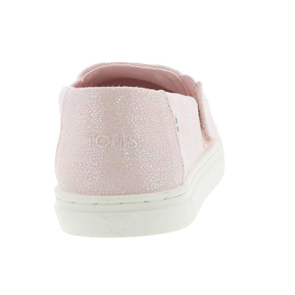 TOMS Luca Tiny Girls' Infant-Toddler Slip On 7 M US Toddler Pink-Iridescent by TOMS Kids (Image #6)