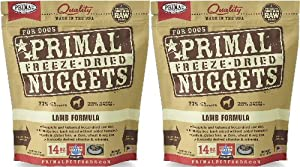Primal Freeze-Dried Nuggets Lamb Formula for Dogs 28oz (2 x 14oz)