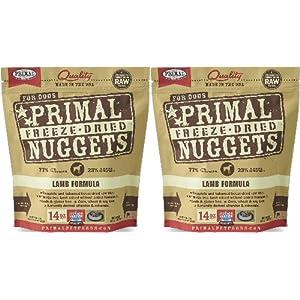 Primal Freeze-Dried Nuggets Lamb Formula Dogs 28oz (2 x 14oz) 70