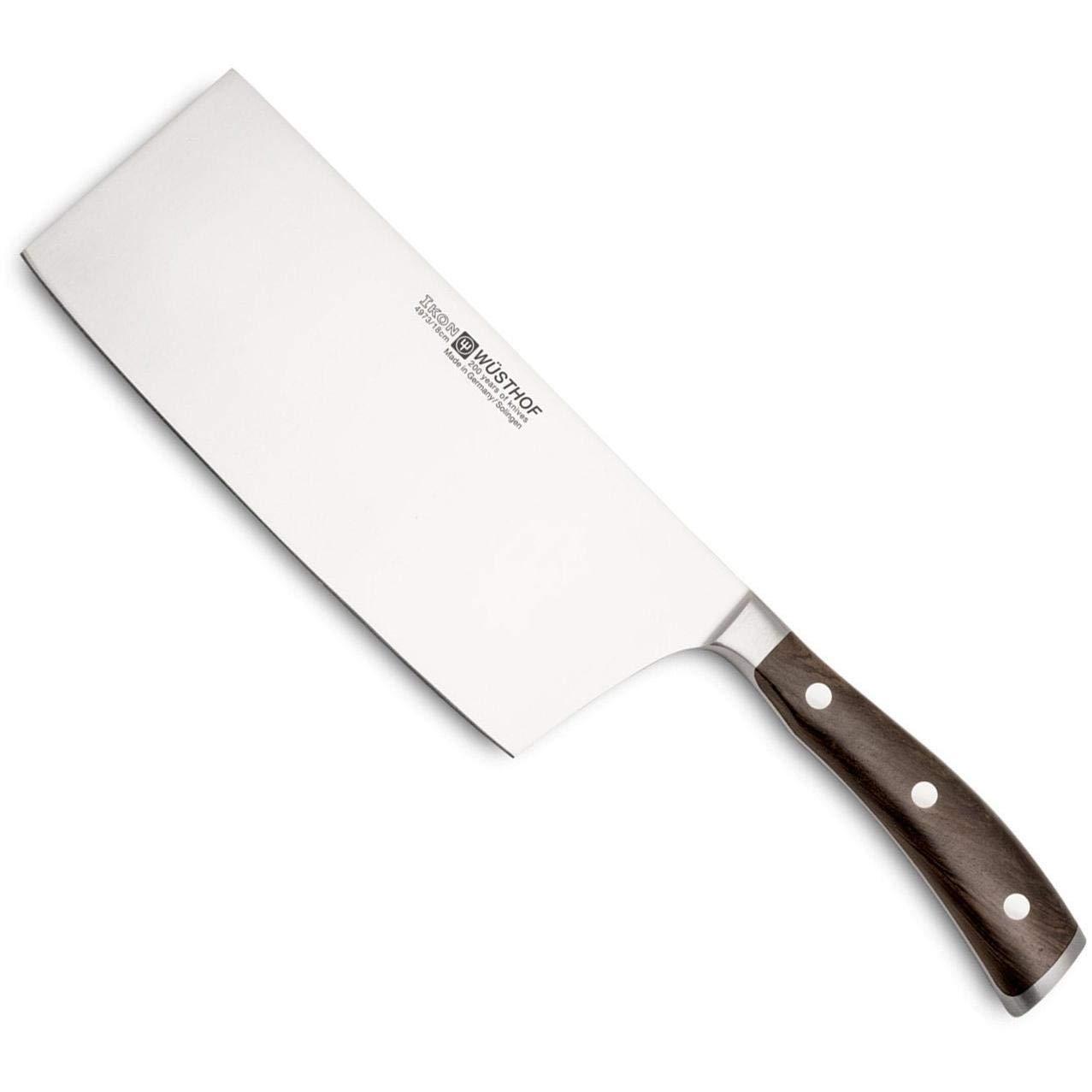 Wüsthof Ikon Chinese Chef's Knife 7'' African Blackwood