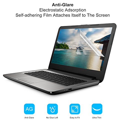 """[2 PACK] FORITO 14"""" Anti Glare Anti Scratch laptop Screen Protector for HP/DELL/Asus/Acer/Sony/Samsung/Lenovo/Toshiba, Display 16:9 by FORITO (Image #4)"""