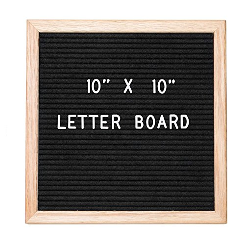 - Jango Black Felt Letter Boards 10